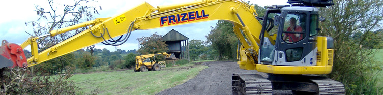 Frizells Plant Hire - Cheshire
